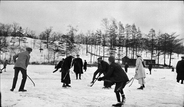 hockey extérieur